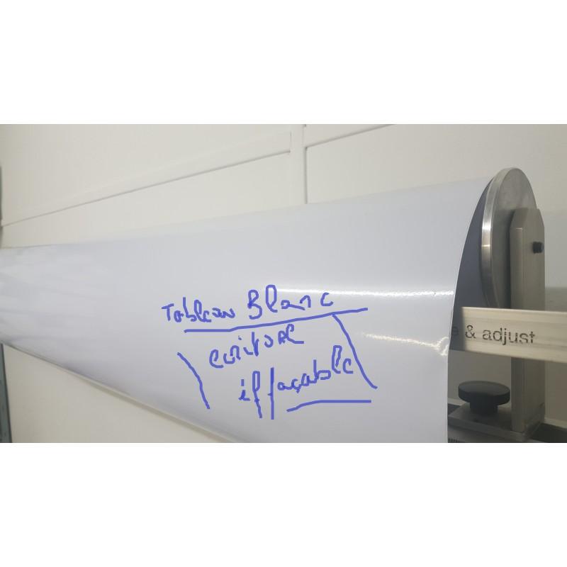 film TABLEAU blanc (largeur de 1,22 m)