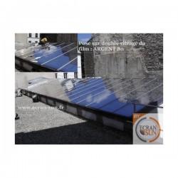 film solaire ARGENT 80 electrostatique (solaire miroir) vue principale