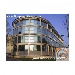 film solaire ARGENT 80 electrostatique (solaire miroir) vue complémentaire