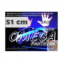 FILM OMEGA HP 37 MICRONS : film thermoformable voiture vue alternative