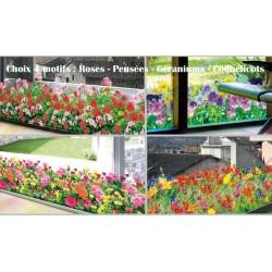 film adhesif fleurs