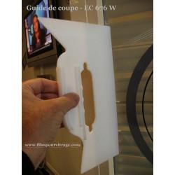 guide de coupe pour pose film adhesif