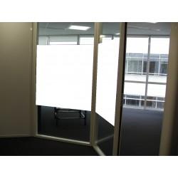 film adhésif blanc pour vitre