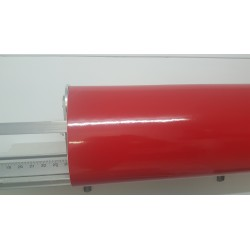 film vinyle opaque rouge