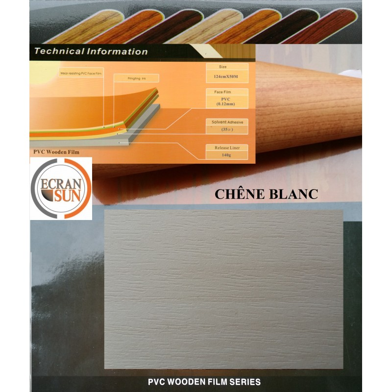 COVERING CHENE BLANC POUR MEUBLE