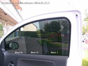 vitres teintées pour l'automobile